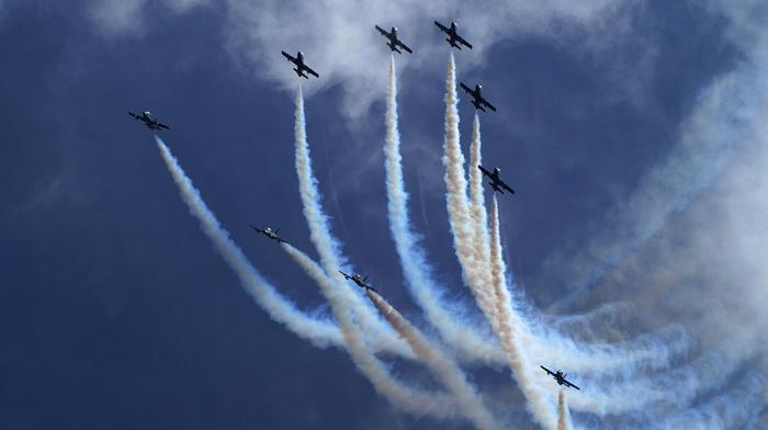 jets, sky, aircraft