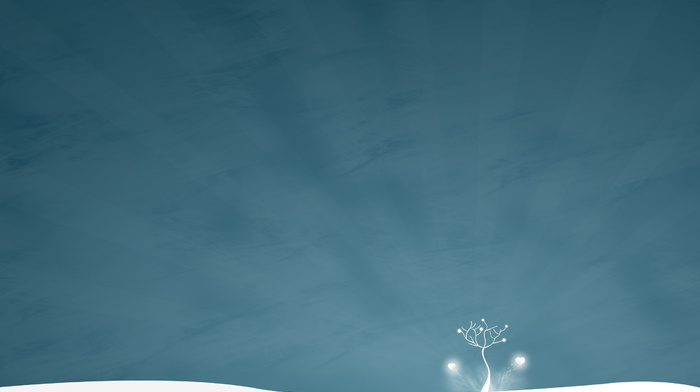 wallpaper, tree, style, minimalism, snow, winter