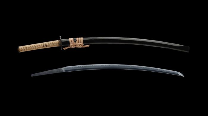 gun, samurai, katana, Japan, sword