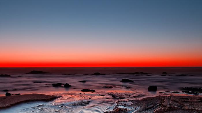 ocean, nature, coast