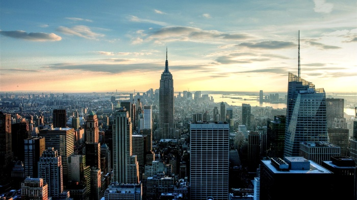 urban, empire state building, building, New York City
