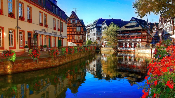 cities, river, France