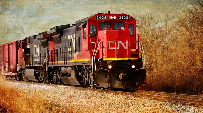 style, background, train