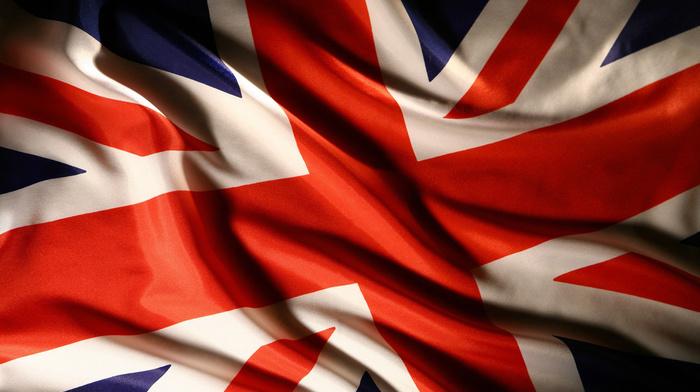 текстуры, Великобритания, флаг, union jack
