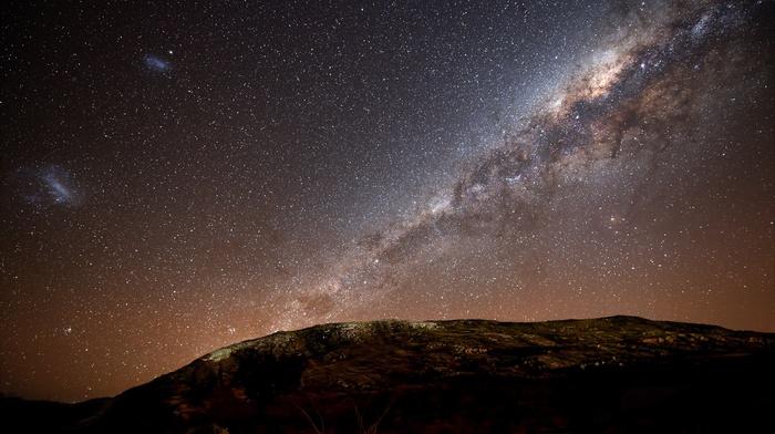 Milky Way, space, stars