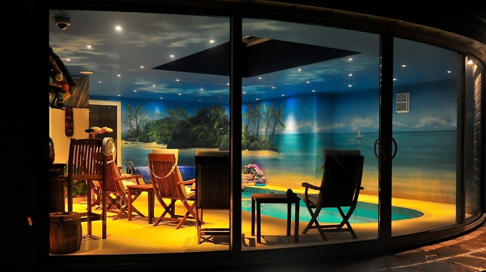 interior, villa, style, house, design