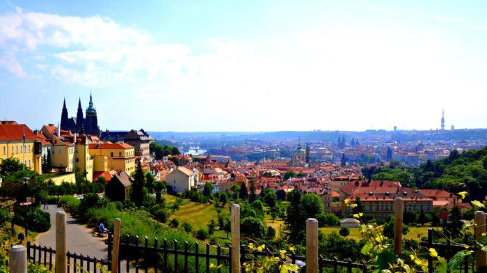 city, panorama, cities