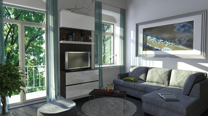 house, interior, style, design
