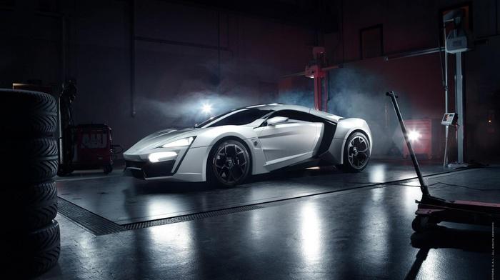 supercar, auto, cars, garage