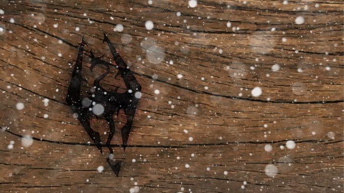 snow, logo, art, dragon, tree, video games
