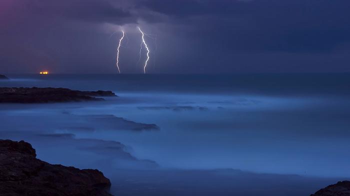 element, sea, coast, nature, stones, water, azure