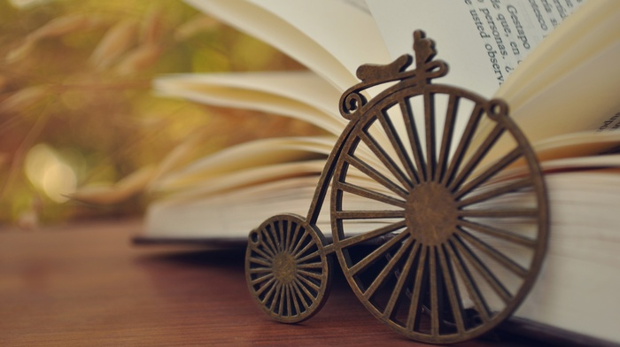 background, stunner, book, bicycle