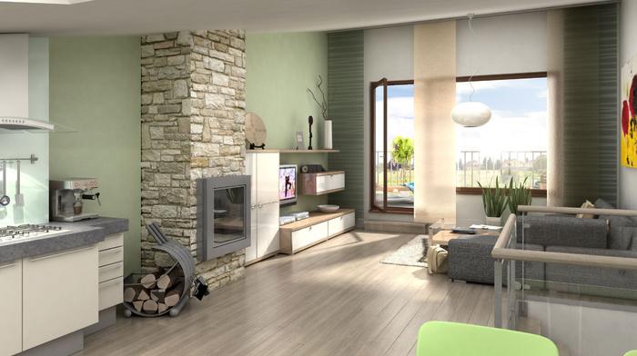 style, interior, house, design, villa