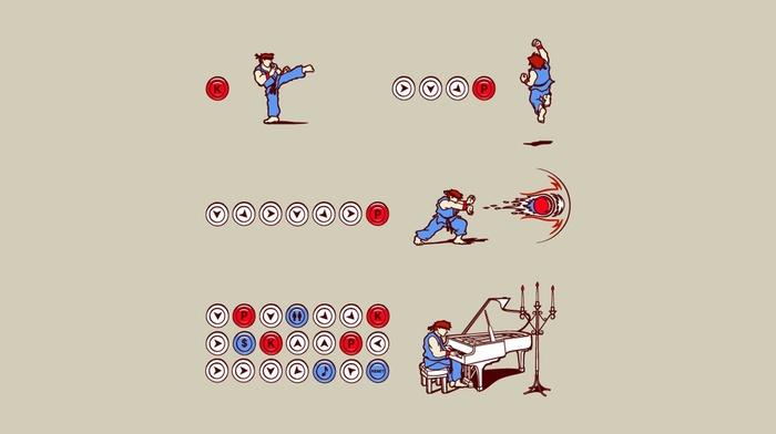 Street Fighter, music, Hadouken
