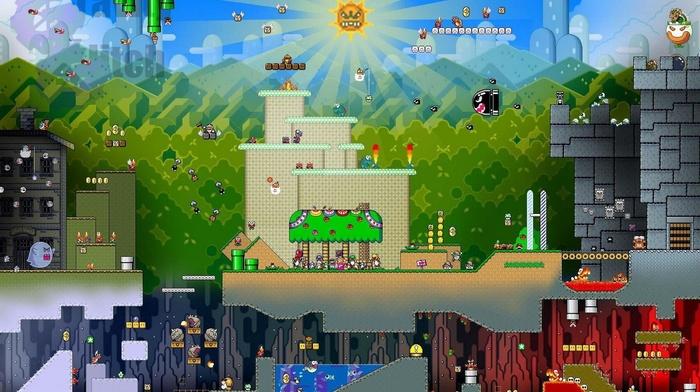video games, Super Mario, Super Mario Bros.