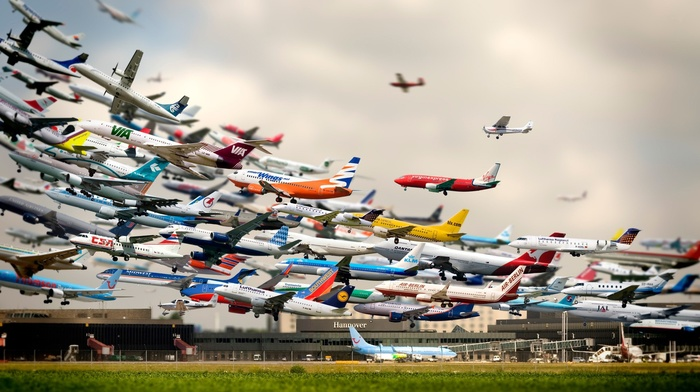 collections, digital art, airplane, photography, photo manipulation