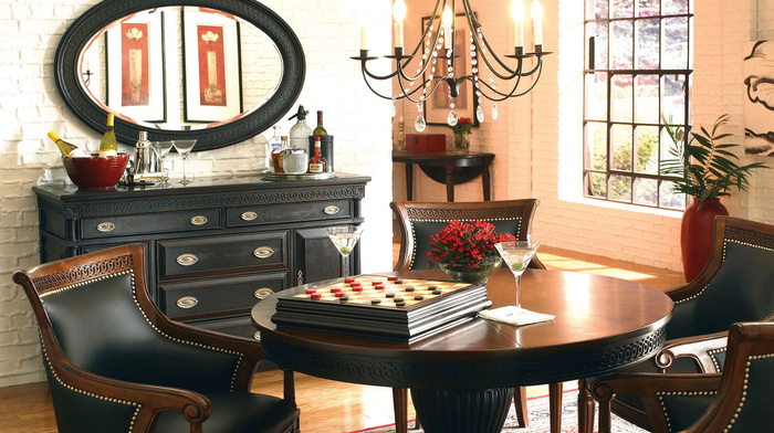 villa, house, style, design, interior