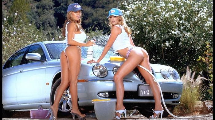 bikini, butts, girls, auto