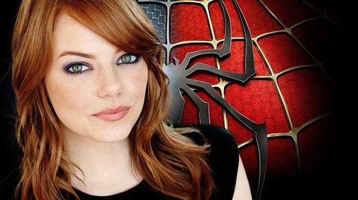 movies, spider, man, Emma Stone, The Amazing Spider