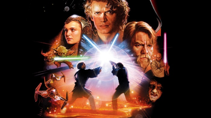 Anakin Skywalker, Star Wars, Star Wars Episode III, The Revenge of the Sith, Padme Amidala, movies, Obi, Wan Kenobi