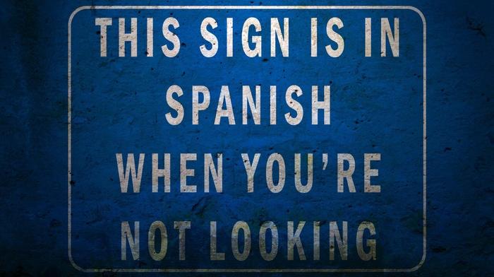 humor, signs, warning signs, Spanish