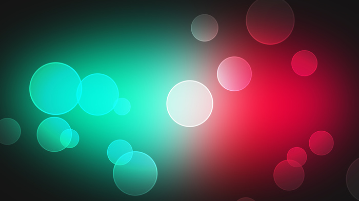 bubbles, balloon, colors, 3D, gradient
