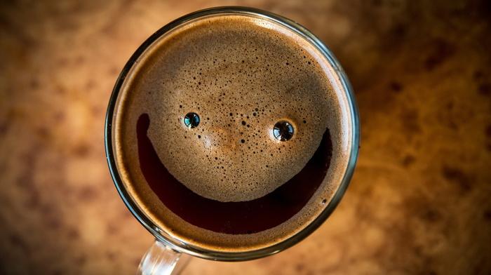 cup, coffee, drink, stunner, foam, macro