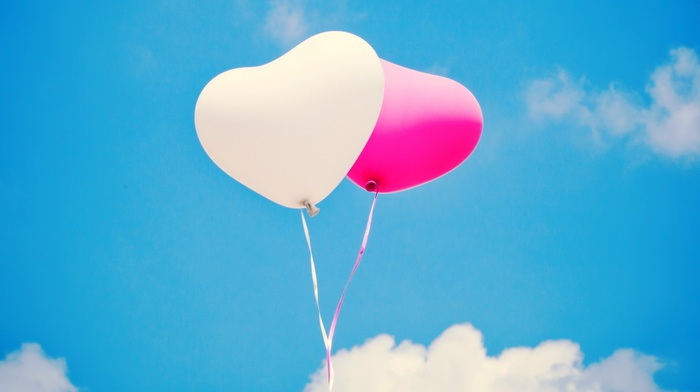 creative, sky, clouds, white, pink