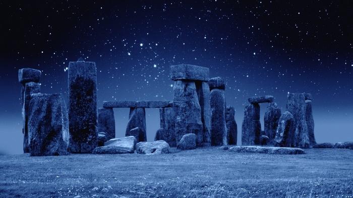 stone, sky, England, stars, photo, stunner, nature