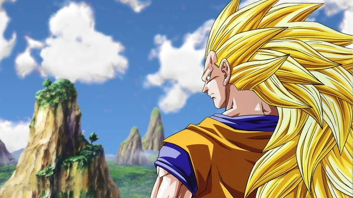 anime, Vegeta, Super Saiyan 3, Dragon Ball Z, Dragon Ball