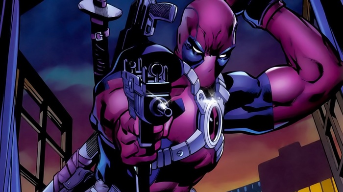 Merc with a mouth, Marvel Comics, Deadpool, DP