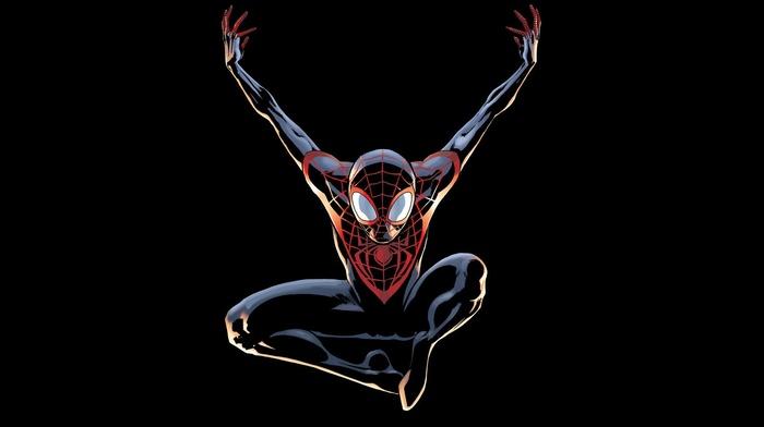 Amazing Spider, man, Miles Morales, Spidey, spider