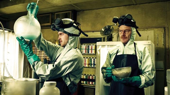 gas masks, Heisenberg, Jessie Pinkman, Walter White, anime, TV, Breaking Bad