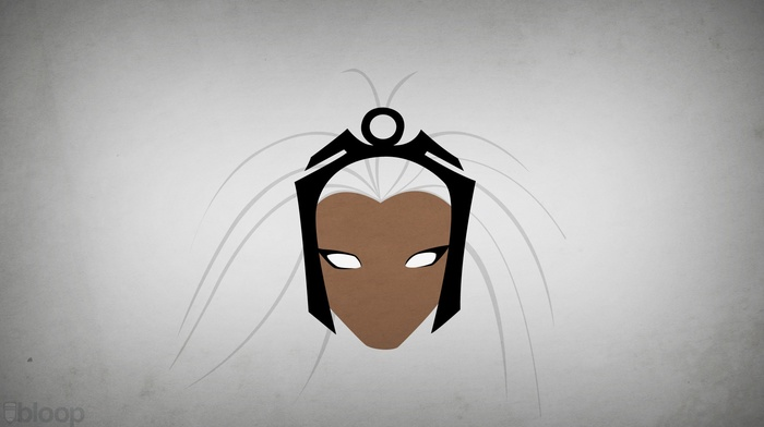 superheroines, Blo0p, Storm character