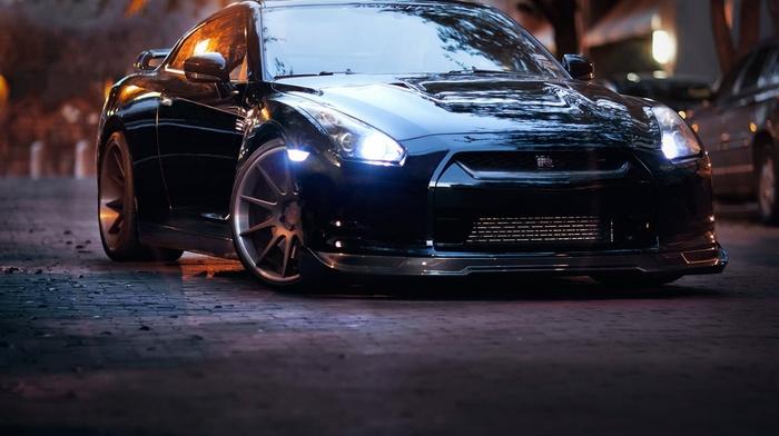 cars, automobile, wheels, headlights, road, sportcar