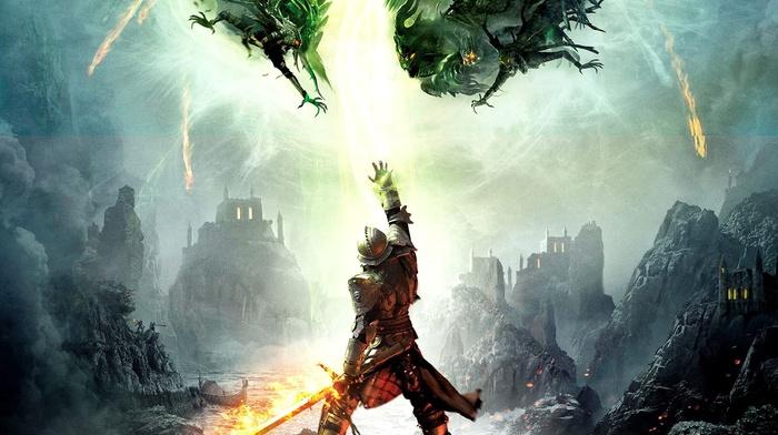 fantasy art, artwork, Bioware, video games, RPG, Dragon Age, Dragon Age Inquisition