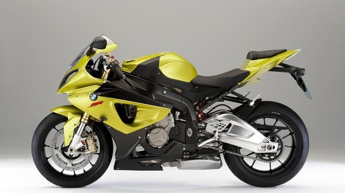 bmw, motorcycles, yellow, moto