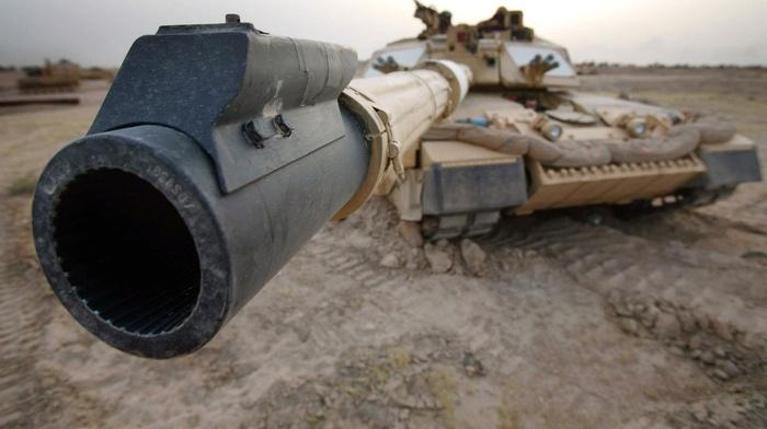 macro, gun, power, England, tank, desert