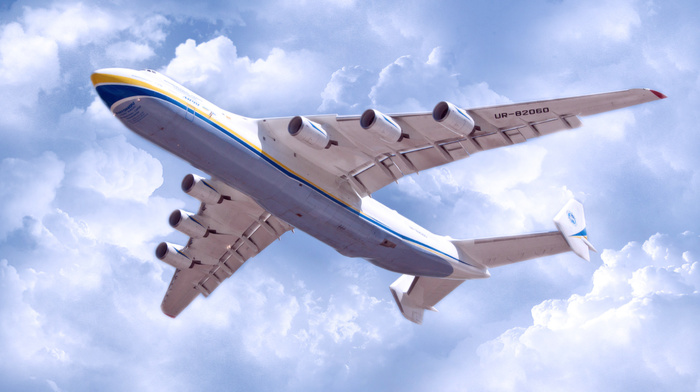 fly, clouds, in, Ukraine, aircraft, airplane, sky