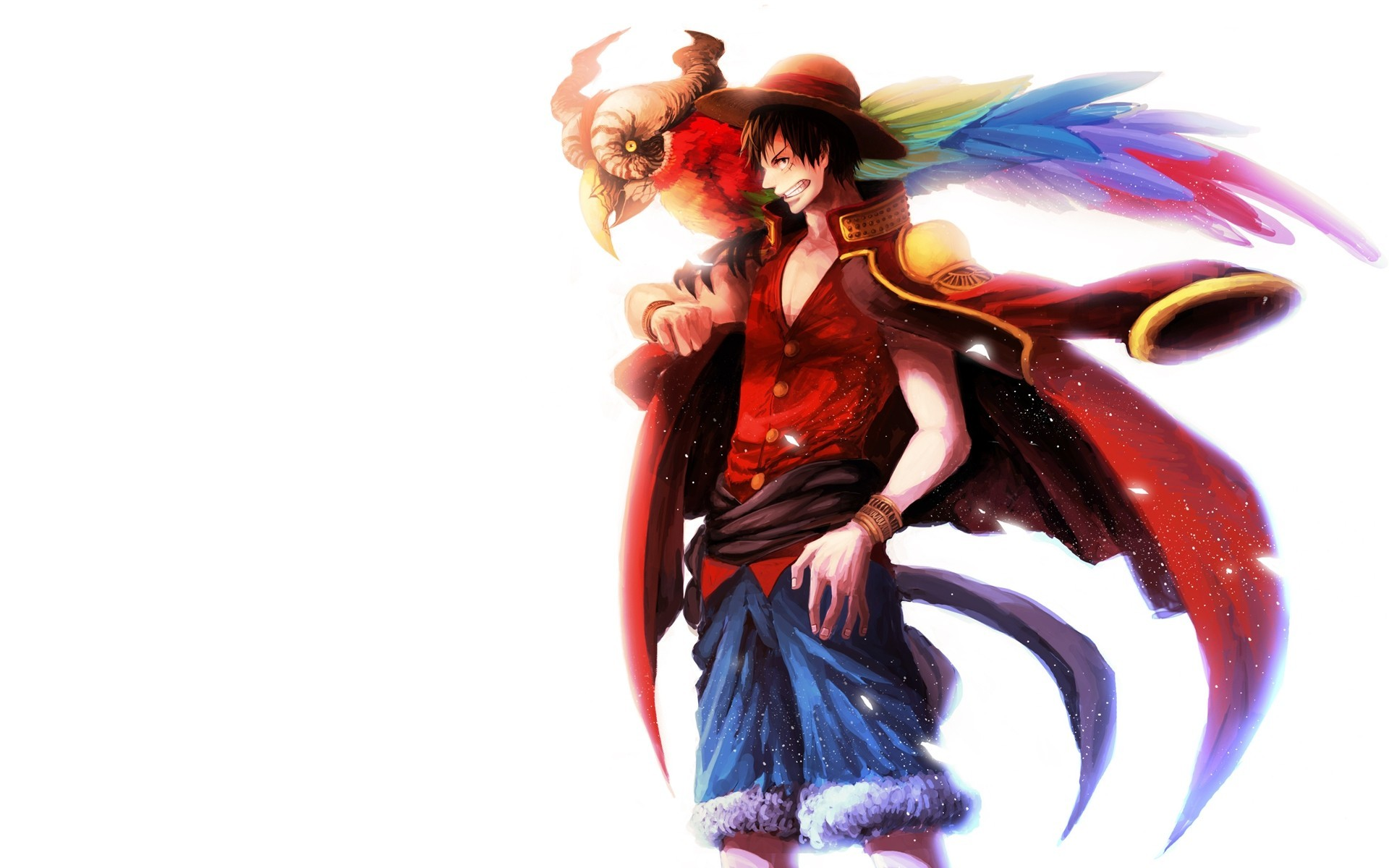 Monkey D Luffy One Piece Download Wallpaper