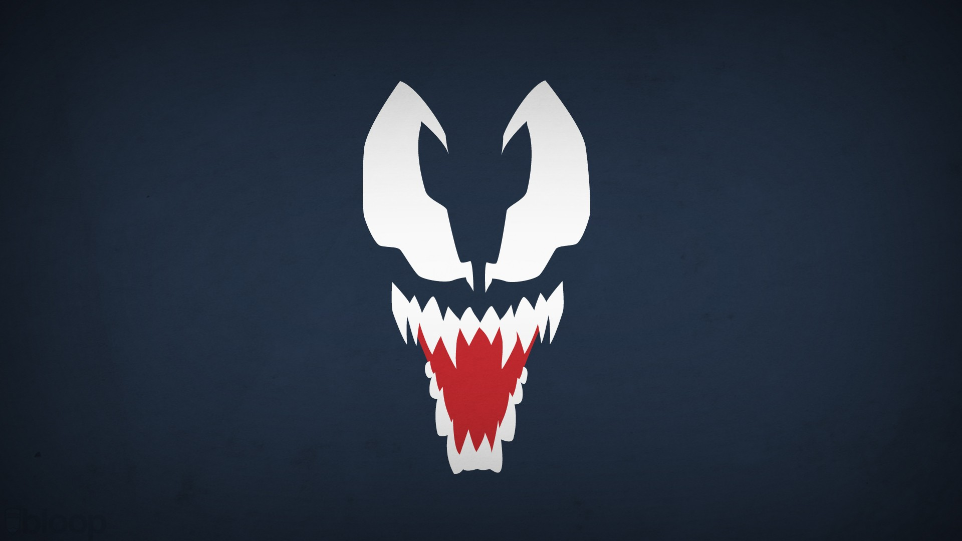 Spider Man Venom Minimalism Blo0p Villain Wallpaper 104389