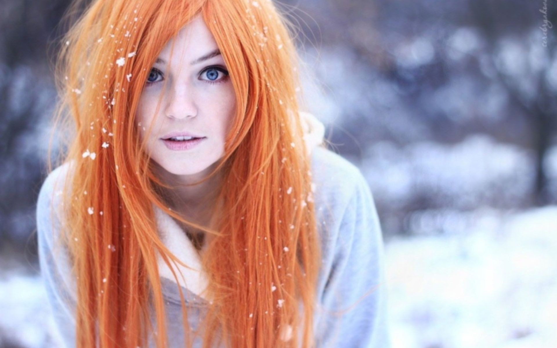 Самые красивые фото рыжих девушек в россии 3 фотография