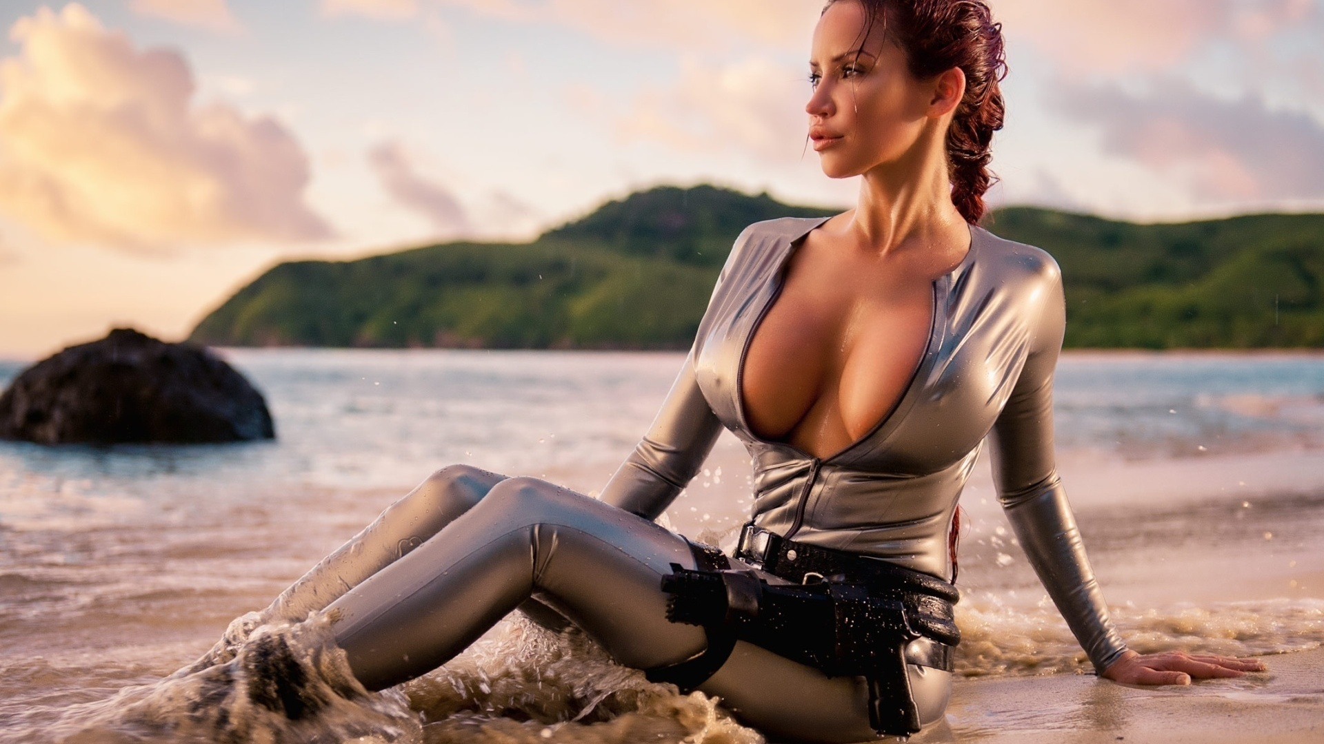 Lara croft big boobs naked pictures cartoon erotic video