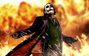 The Dark Knight, movies, anime, Batman, Heath Ledger, Joker