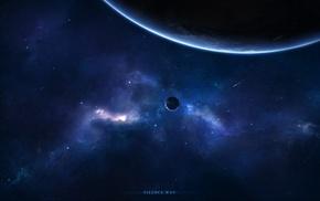 stars, space, planets, nebula