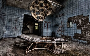 Chernobyl, abandoned, HDR