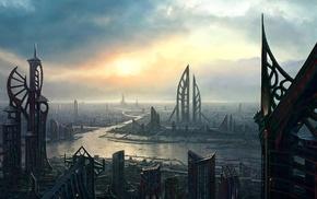 science fiction, artwork