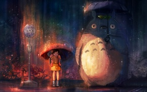Totoro, Studio Ghibli, anime