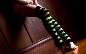 ножки, носки, девушка