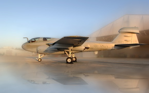 aircraft, airplane, sunset